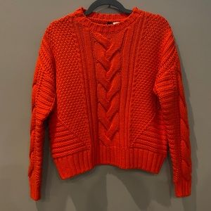 H&M   Chunky Cable Knit Sweater